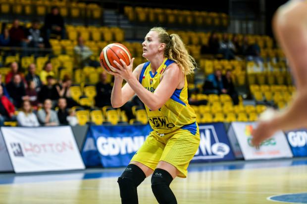 Marie Gulich była najskuteczniejszą koszykarką Arki w wyjazdowym spotkaniu z Energą Toruń. Niemka zaliczyła double-double, bowiem zdobyła 15 punktów i miała 12 zbiórek, a gdynianki wygrały 66:44.