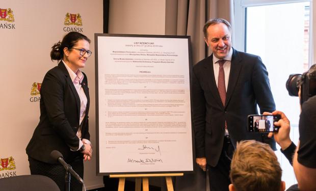 W piątek oficjalnie podpisany został list intencyjny w sprawie wspólnego biletu przez Aleksandrę Dulkiewicz (prezydent Gdańska) oraz Mieczysława Struka (marszałka województwa).
