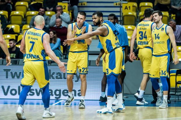 Poniedziałkowe zwycięstwo, było 10. koszykarzy Asseco Arki Gdynia w tym sezonie Energa Basket Ligi.