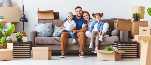 Marzeniem każdej rodziny, która planuje przeprowadzkę, jest duża ilość miejsca do przechowywania oraz wspólnego spędzania czasu.