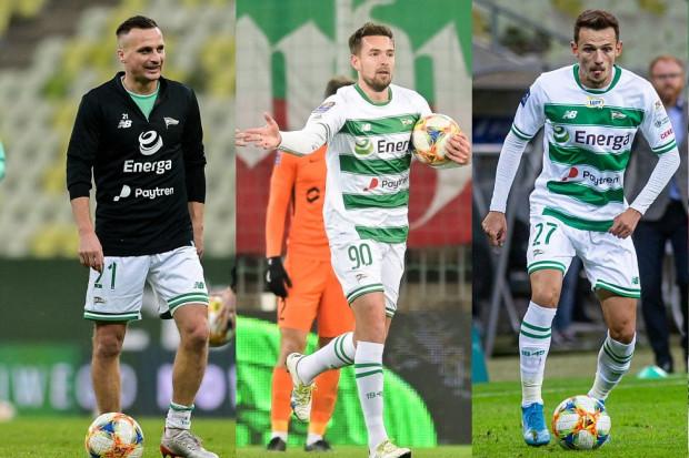 Sławomir Peszko (nr 21) kontrakt w Lechii Gdańsk ma ważny do 30 czerwca 2020 roku, a Rafał Wolski (27) i Artur Sobiech (90) sezon dłużej.