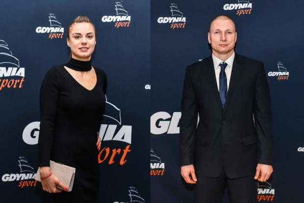 Najlepsi Sportowcy Gdyni 2019 Roku: Barbora Balintova i Krzysztof Szubarga.