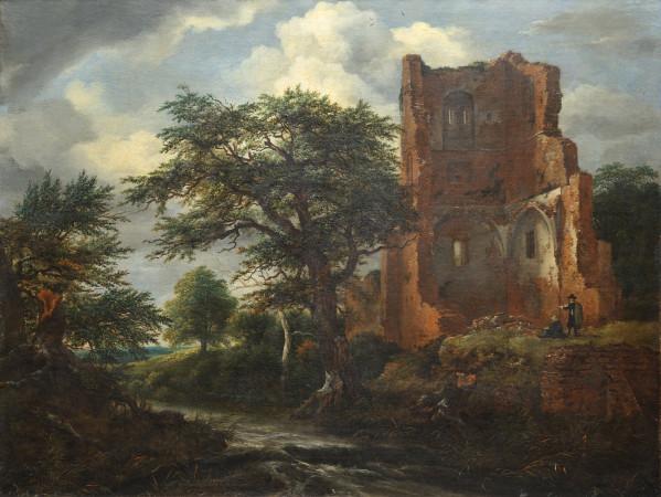 Dzieło Jacoba van Ruysdaela ze zbiorów Muzeum Narodowego w Gdańsku, wskazane przez badaczkę z Harvardu jako zagrabione w czasie II wojnie światowej.