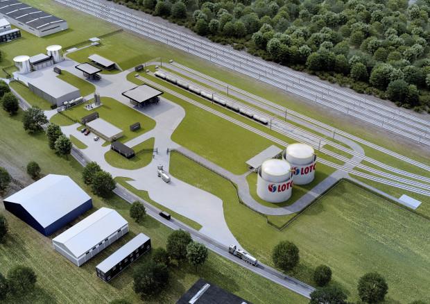 Lotos wyda 100 mln zł na rozbudowę i modernizację terminala paliw w Piotrkowie Trybunalskim.