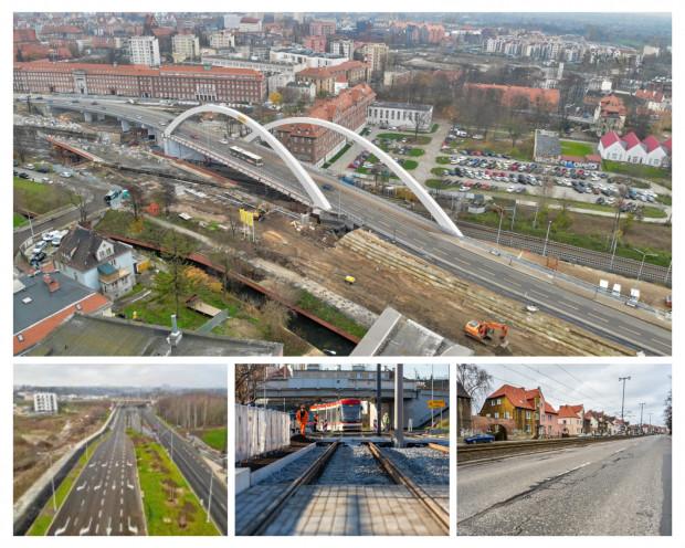 Planowane jest dokończenie modernizacji linii na Stogach, budowa Nowej Bulońskiej, wiaduktu Biskupia Górka i modernizacja odcinków al. Hallera.