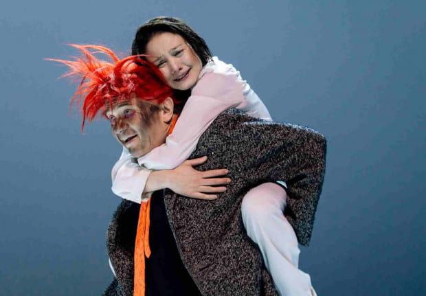 """Jedną z ozdób tegorocznego Festiwalu Szekspirowskiego ma być """"Hamlet"""" w reż. Jurija Butusowa z Teatru Lesowieta w Sankt Petersburgu (na zdjęciu)."""