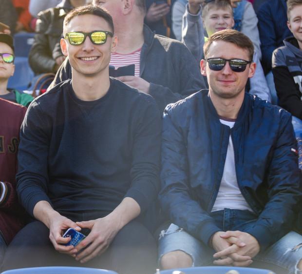 Są duże szanse, że Jarosław Kubicki i Jakub Arak (z lewej) nie będą skazani wiosną na oglądanie meczów Lechii Gdańsk z trybun.