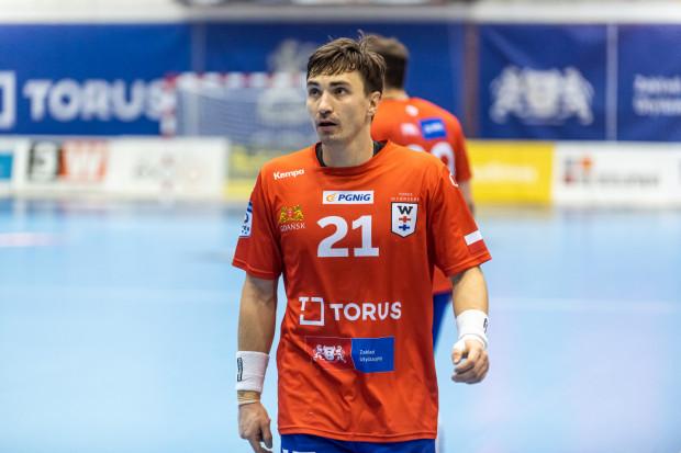 Torus Wybrzeże nie zdołało awansować do 1/8 Pucharu Polski. Na zdjęciu Piotr Papaj, zdobywca największej liczby bramek dla gdańszczan w meczu z Energą MKS.