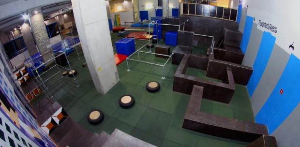 Movement Challenge odbędzie się na profesjonalnej sali parkour.