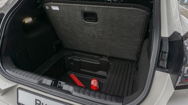 456 - tyle litrów pomieści bagażnik Pumy. Sporo.