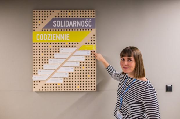 Solidarność Codziennie to miejsce, z którego może skorzystać każdy, kto potrzebuje przestrzeni do pracy nad swoim niekomercyjnym projektem.