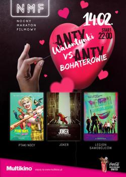 Wśród antywalentynkowych propozycji dużą popularnością cieszą się nieromantyczne maratony filmowe.