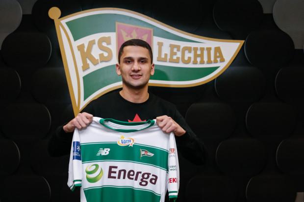 Omran Haydary w Lechii Gdańsk będzie grał z numerem 8 na plecach.