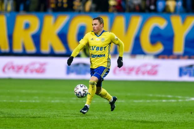 Michał Nalepa krytycznie o grze Arki Gdynia w końcówce meczu w Zabrzu: dziecinna i nieodpowiedzialna.