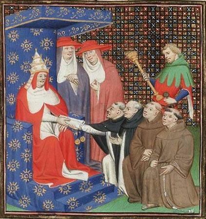 Papież Innocenty IV wysłał relikwię św. Barbary jako dar dla króla duńskiego Eryka IV.