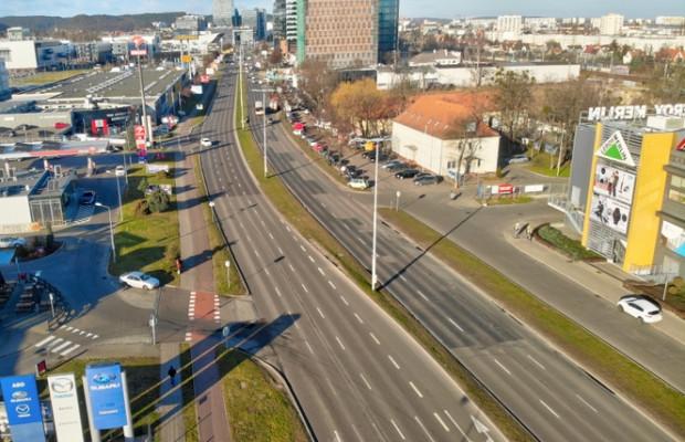Remont jezdni al. Grunwaldzkiej w stronę Sopotu rozpocznie się nie wcześniej niż 29 maja.