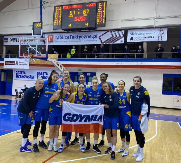 Gdynianki wygrały po raz 19. z rzędu w EBLK i są jedyną niepokonaną drużyną na polskich parkietach.