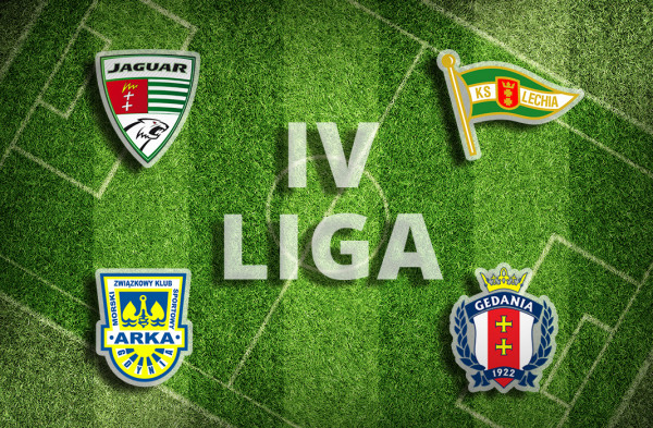 Jaguar Gdańsk, Lechia II Gdańsk, Arka II Gdynia i Gedania to jedyne trójmiejskie zespoły, które walczą w IV lidze.