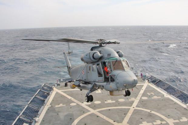 Śmigłowiec Kaman SH-2G Super Seasprite.