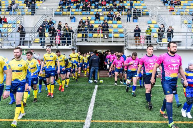 Derby Arka Gdynia - Ogniwo Sopot są jak na razie jedynym rozegranym meczem przez trójmiejskich rugbistów w ekstralidze wiosną 2020.