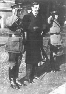 Sir Reginald Thomas Tower, pełnomocnik Głównych Mocarstw Sprzymierzonych i Stowarzyszonych (taka była oficjalna nazwa Ententy) oraz tymczasowy Wysoki Komisarz Ligi Narodów w Gdańsku.