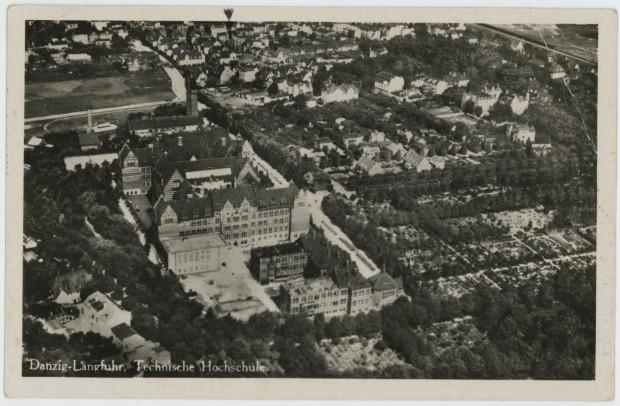 Kompleks politechniki w Gdańsku, lata 20. ub. w. (zbiory Krzysztofa Gryndera)