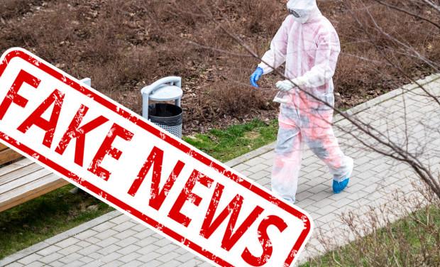 Informacje o oszustach okradających mieszkania w kombinezonach, pod przykrywą dezynfekcji, to fake news. Zdjęcie ilustracyjne.