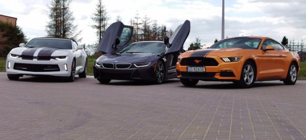 Chevrolet Camaro, BMW i8, a może Ford Mustang? Auto Top sprowadzi dla ciebie każdy samochód.