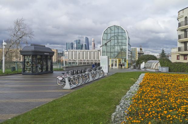 Moskiewski system roweru miejskiego działa nieprzerwanie od 2013 r.