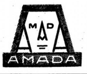 Logo fabryki Amada.