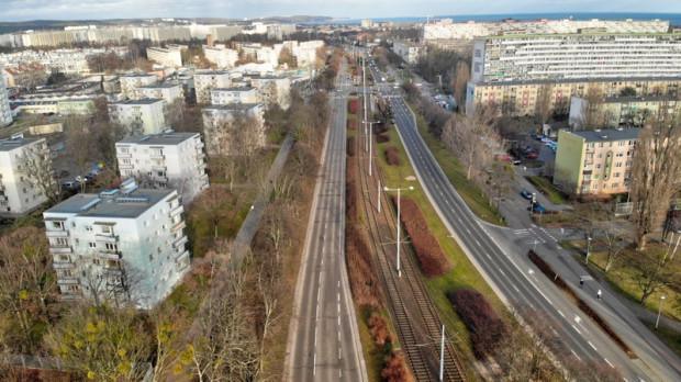 Przebudowa fragmentu głównej arterii przez Przymorze będzie kosztować 1,6 mln zł.