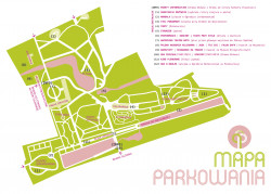 Zobacz mapę wydarzeń Parkowania.