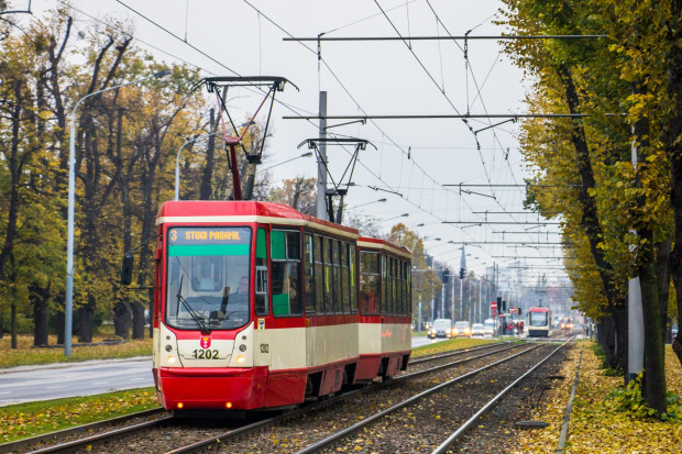 Mające już swoje lata konstale 105Na są jednymi z najpojemniejszych tramwajów.