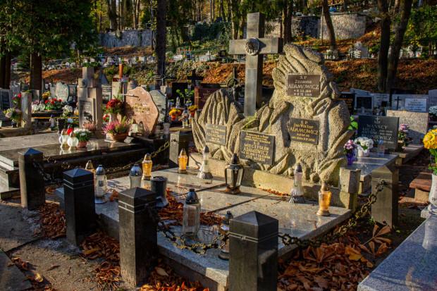 Na zdjęciu cmentarz Witomiński w Gdyni.