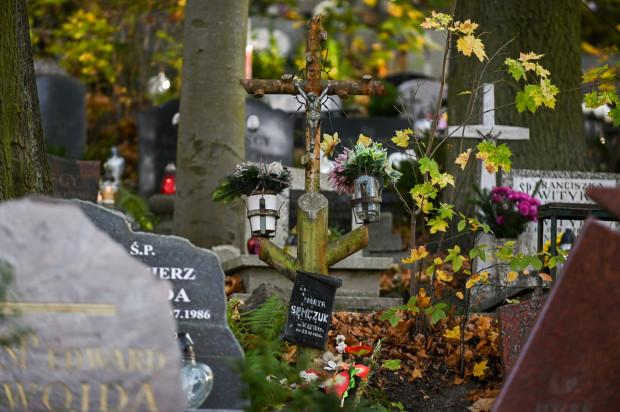 Na zdjęciu cmentarz Srebrzysko w Gdańsku.
