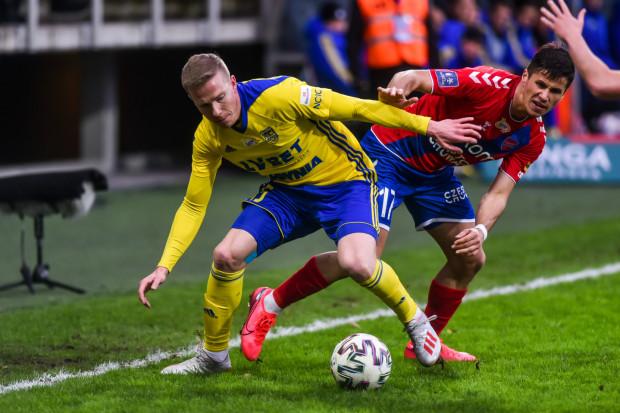 Michał Kopczyński rozegrał dotąd dwa mecze w Arce Gdynia. Wcześniej rehabilitował się po kontuzji barku.