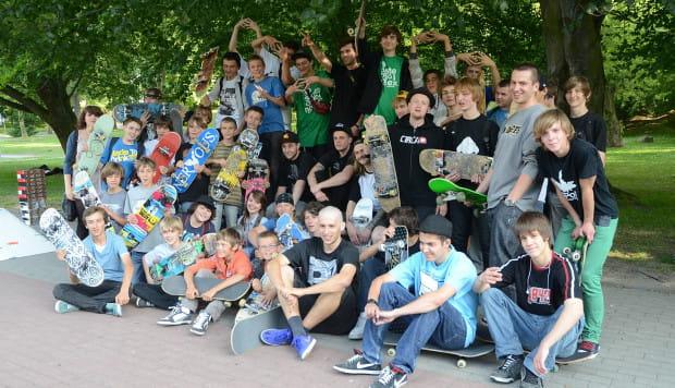 W Gdyni osób zainteresowanych skateboardingiem jest kilka setek. Niestety nie wszyscy mają, gdzie ćwiczyć jazdę i sztuczki.