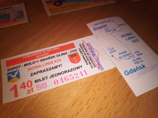 Pan Paweł zbierał bilety od połowy lat 90. do połowy pierwszej dekady obecnego stulecia.
