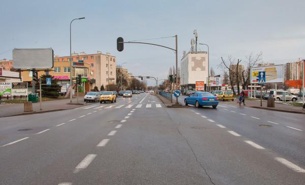 Jedną z propozycji stowarzyszeń jest wyznaczenie pasów rowerowych na ul. Kołobrzeskiej.
