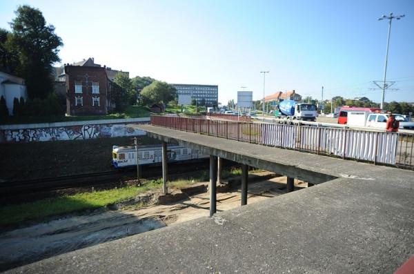Tak obecnie wygląda okolica, gdzie ma powstać przystanek Gdańsk Śródmieście.