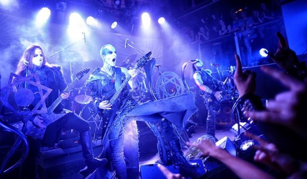 Demoniczny makijaż i groźne miny to wizytówki muzyków Behemotha.