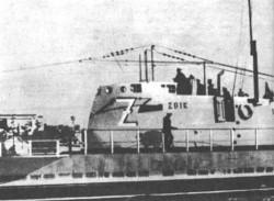Kiosk ORP Żbik