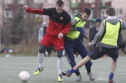 Pogoda sprzyjała piłkarskiej rywalizacji.