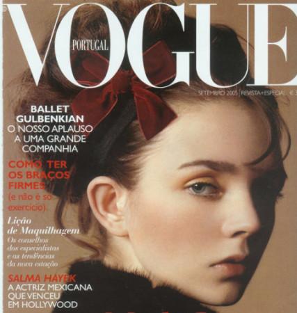 Anna Nocoń na okładce magazynu Vogue