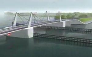 Budowa nowego mostu w Sobieszewie pochłonie 87 mln zł. Nie wiadomo jeszcze, kiedy się rozpocznie.