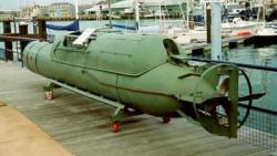 Włoski podwodny pojazd dywersyjny.