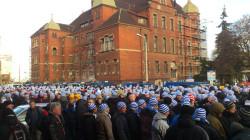 Przyjazd kibiców Ruchu Chorzów do Gdańska 28 listopada.
