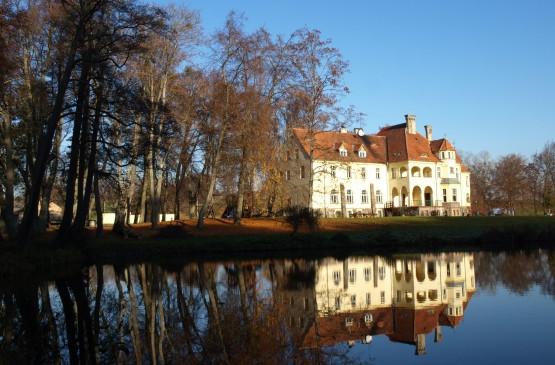 Rezydencja rodziny von Below w Sławutówku