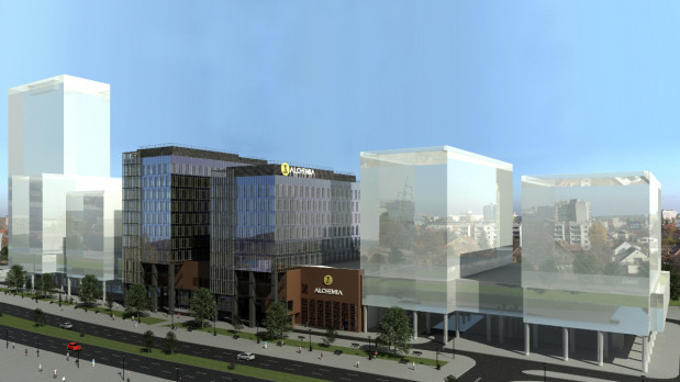 Dwa biurowce już powstają (będą gotowe w trzecim kwartale 2013 r.) pięć kolejnych jest w planach. Wszystkie - w optymistycznej wersji - mają być gotowe ok. roku 2020.