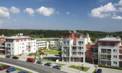 Wiszące Ogrody powstają od 2000 roku w Gdańsku Kiełpinku jako nowa dzielnica miasta.